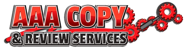 AAA Copy & Review Services